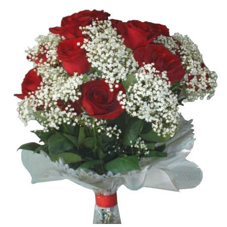Гипсофила с розами